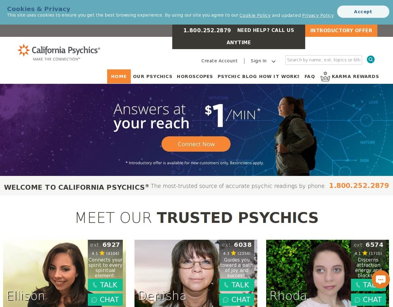 californiapsychics.com