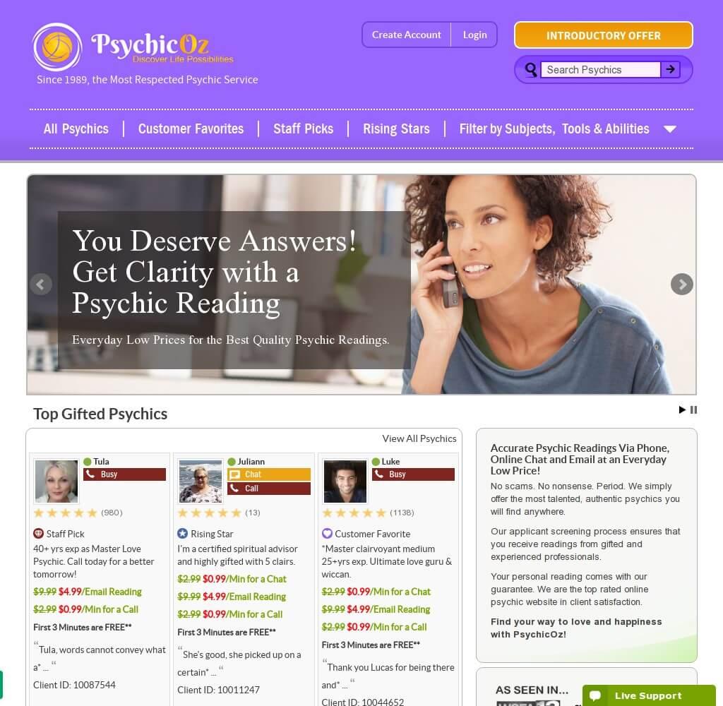 psychicoz.com